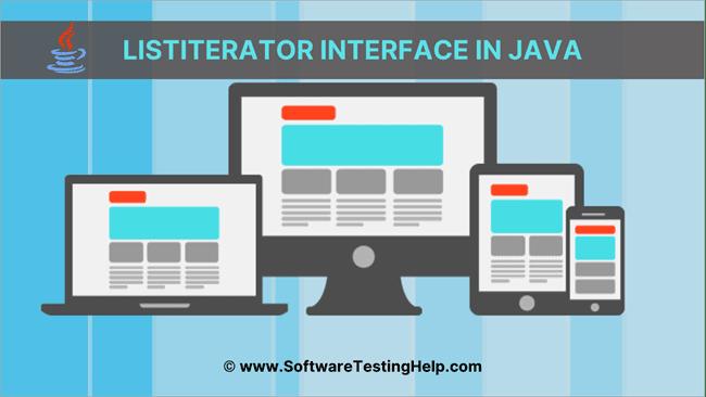 ListIterator Interface in Java