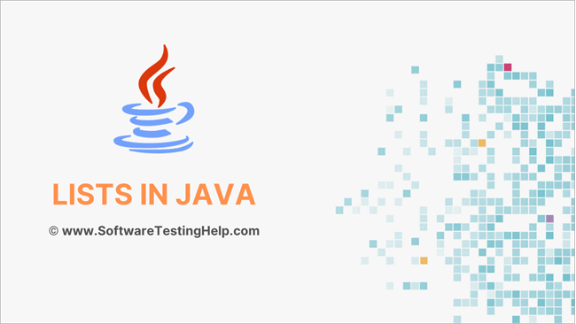 Lists in Java introduction