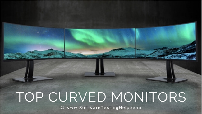 Top Curved Monitors