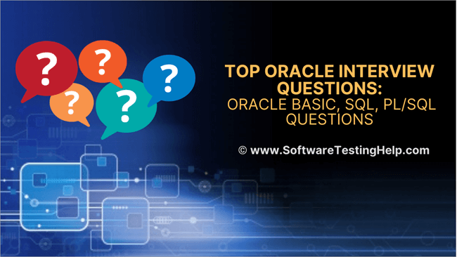 Top Oracle Interview Questions