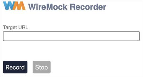 Wiremock Recorder