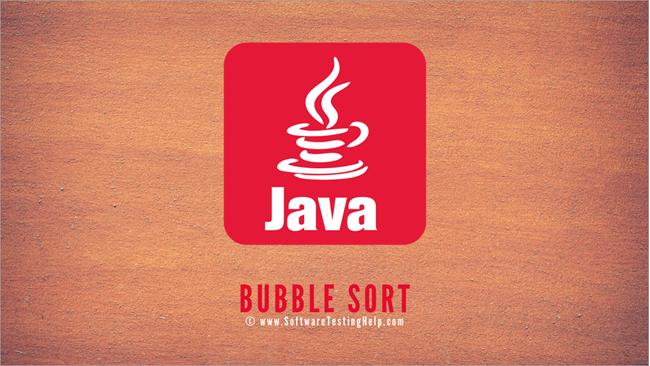 Bubble Sort Technique in Java
