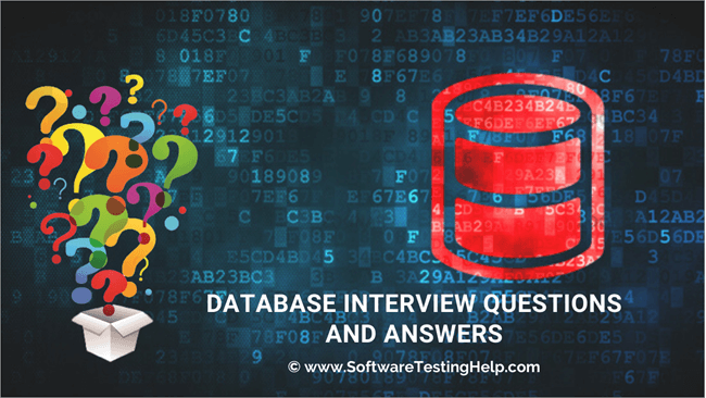Database Interview Questions and Answers