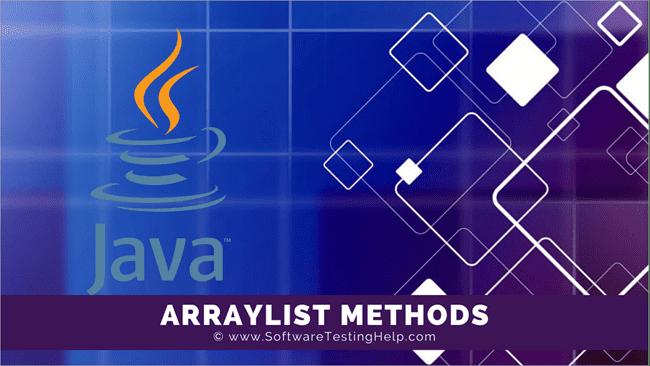 Java ArrayList_Methods