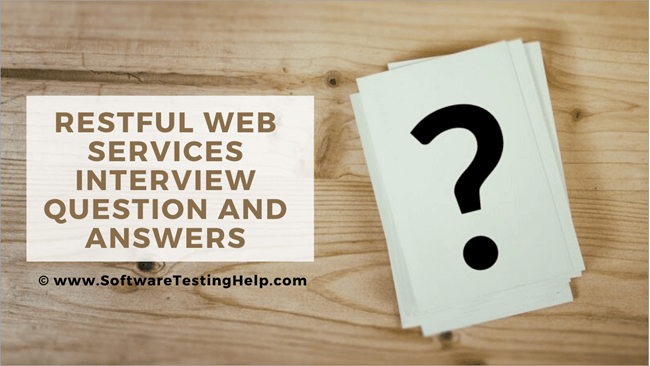 RESTful Web Services Interview