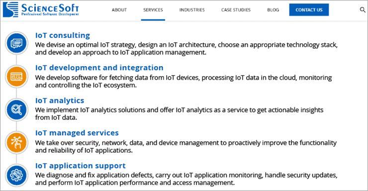 ScienceSoft - IoT