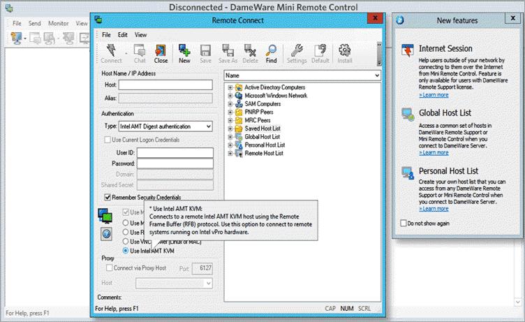 SolarWinds Remote Desktop
