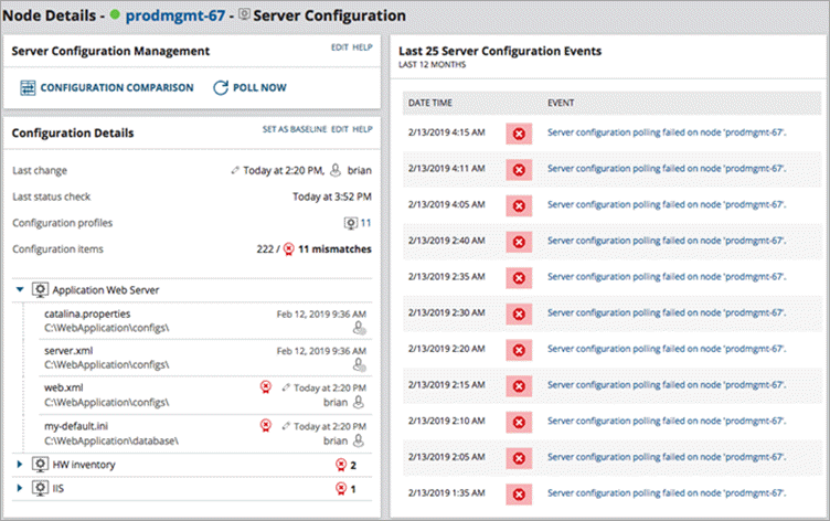 SolarWinds Software Configuration Mgmt