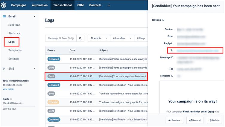 SendinBlue Transactional Email Marketing