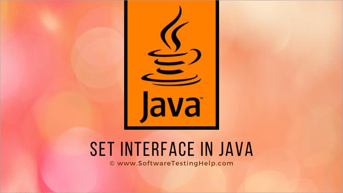 Set Interface in Java