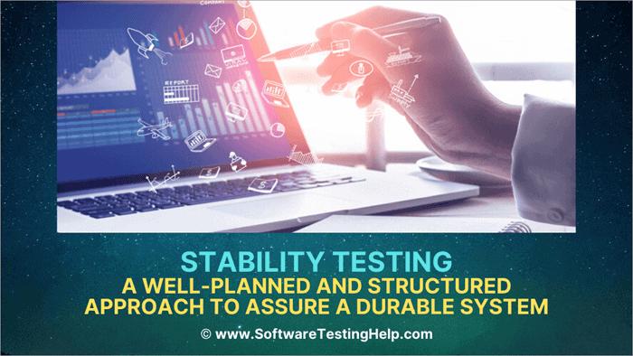Stability Testing tutorial