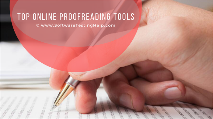 Top Online Proofreading Tools