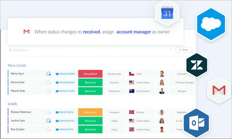 monday.com - Lead Integration