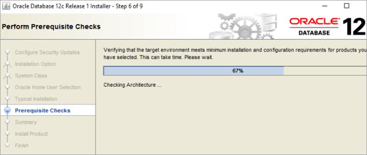 step6: Pre-requisite check