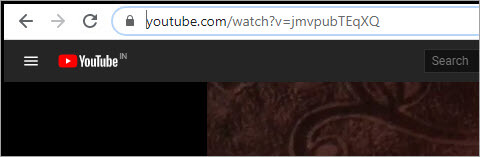 Paste a video link