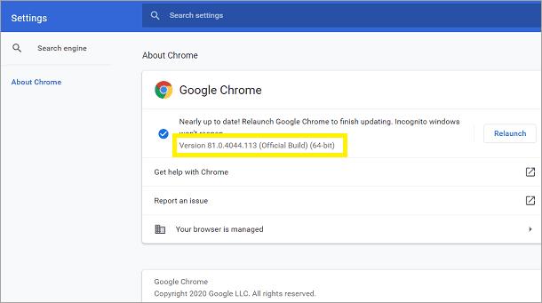 Chrome_version