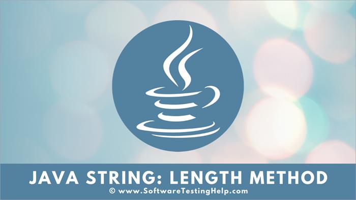 Java String - length method