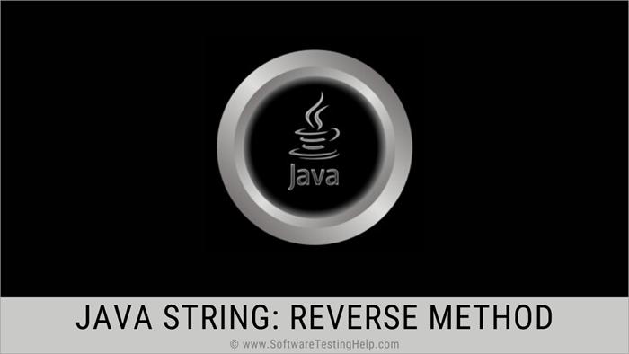 Java String - reverse method