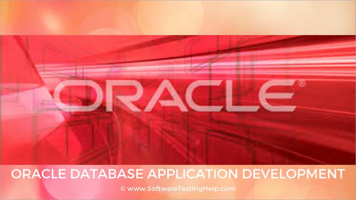 Oracle Database Application Development
