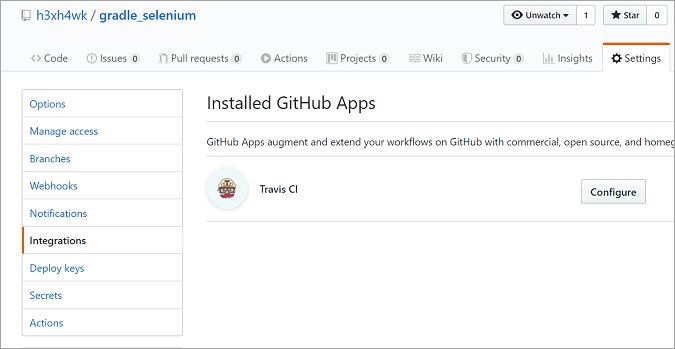 Travis_CI_GitHub_project_settings