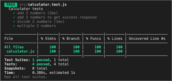 code coverage details
