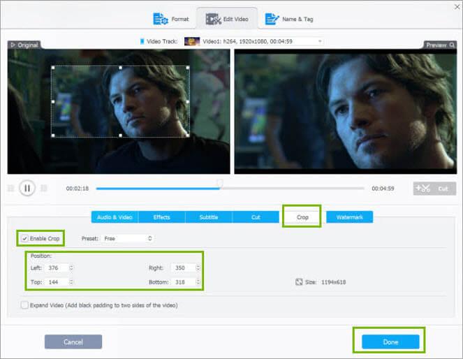 1. Video Processing: