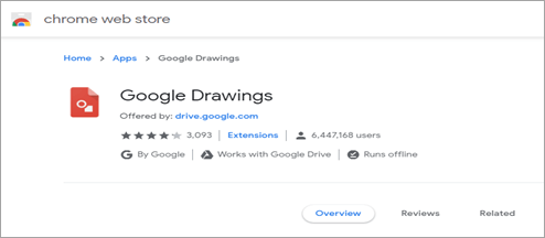 Pricing: Google Drawings