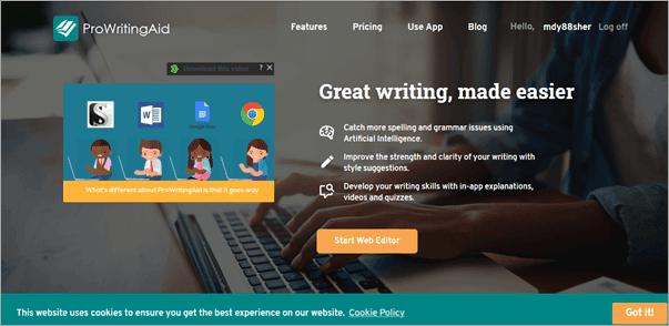 ProWritingAid Writing App