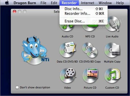 NTI Dragon Burn 4.5.0