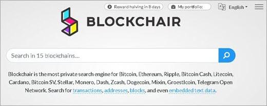 Blockchair explorateur Blockchair