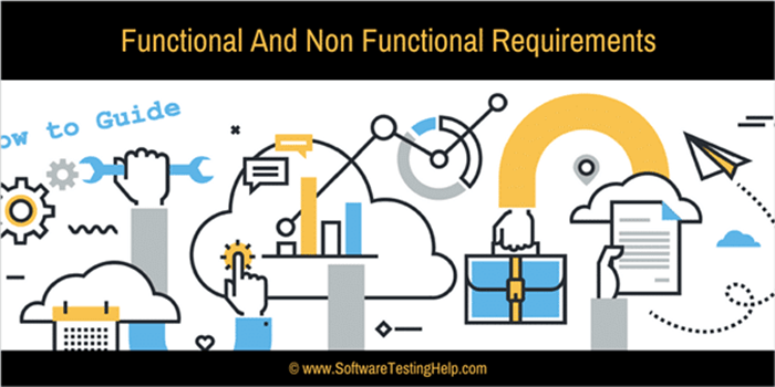 Functional Requirements And Non Functional Requirements