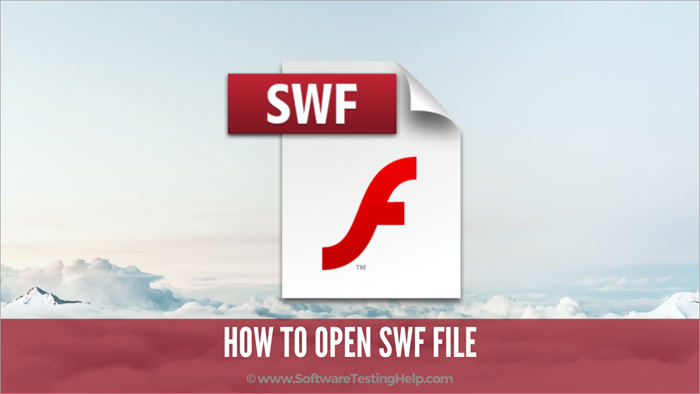 How to open SWF file