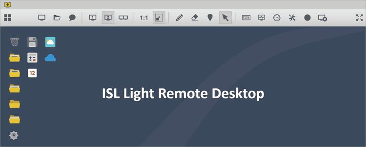ISL Light Dashboard