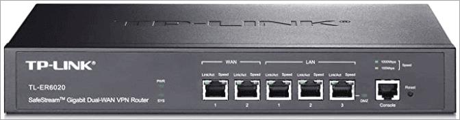 TL-ER6020 SafeStream Gigabit Dual-WAN VPN Router