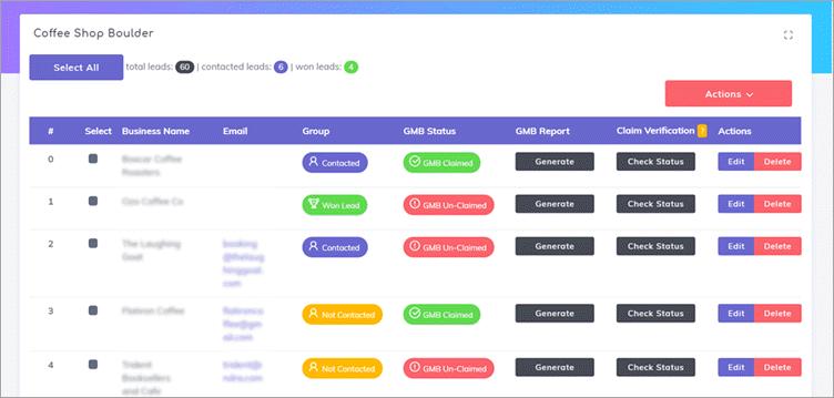Mapify360 Dashboard