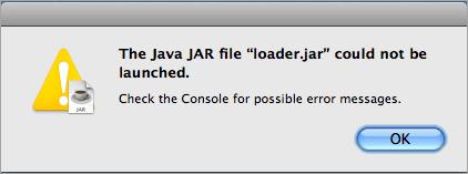 Errors in JAR Files