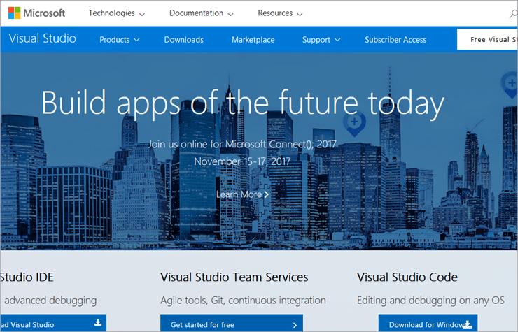 Creating Microsoft VSTS account