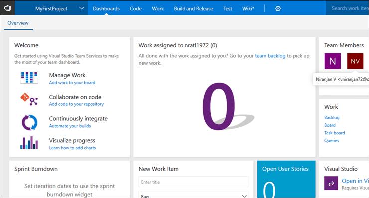Open in Visual Studio