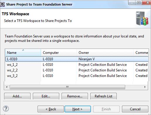 25tfs workspace