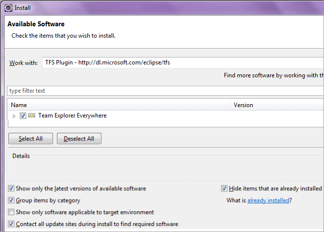2Use the Update site install the plugin