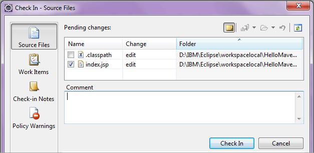47 checkin source files