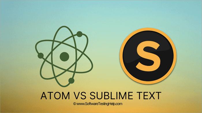 Atom VS Sublime Text