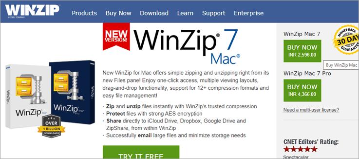 Corel WinZip Mac 7