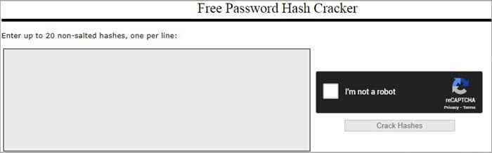CrackStation Dashboard