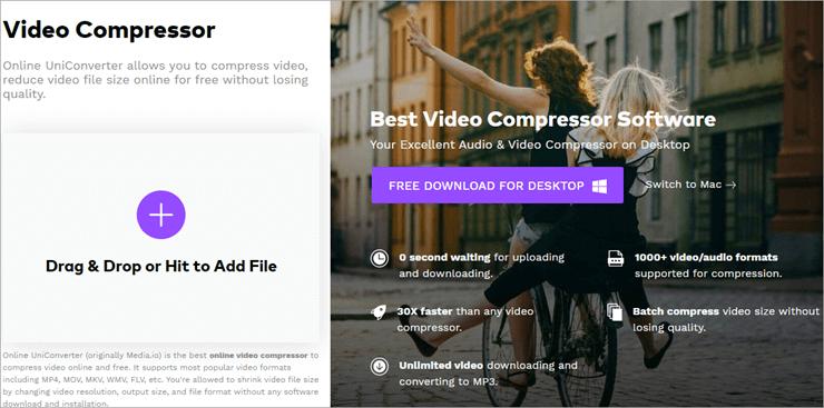 Media.io Video Compressor