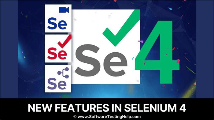 New features in Selenium 4