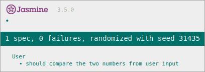 Output with Zero Failures
