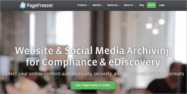 PageFreezer
