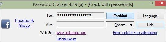 Password Cracker Dashboard