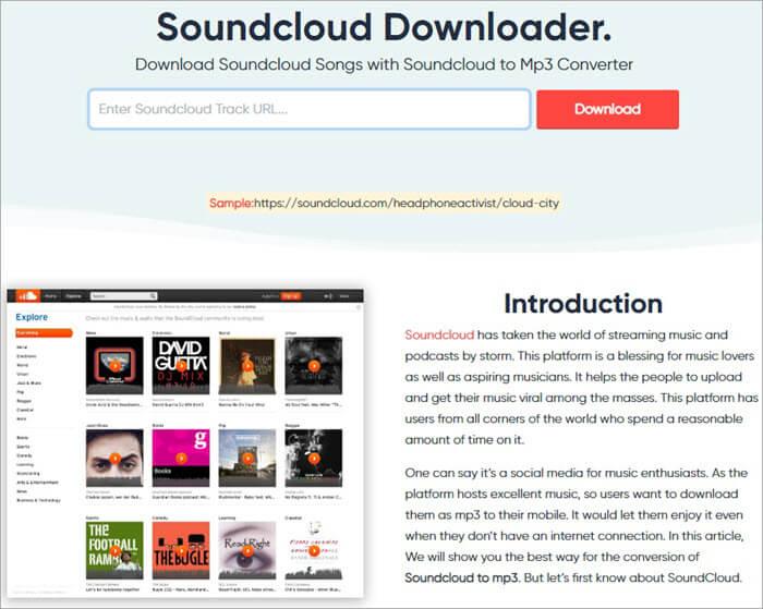 SoundCloudtoMp3_co Dashboard